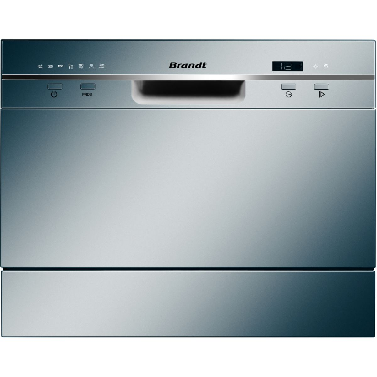 Mini lave vaisselle BRANDT DFC6519S SILVER