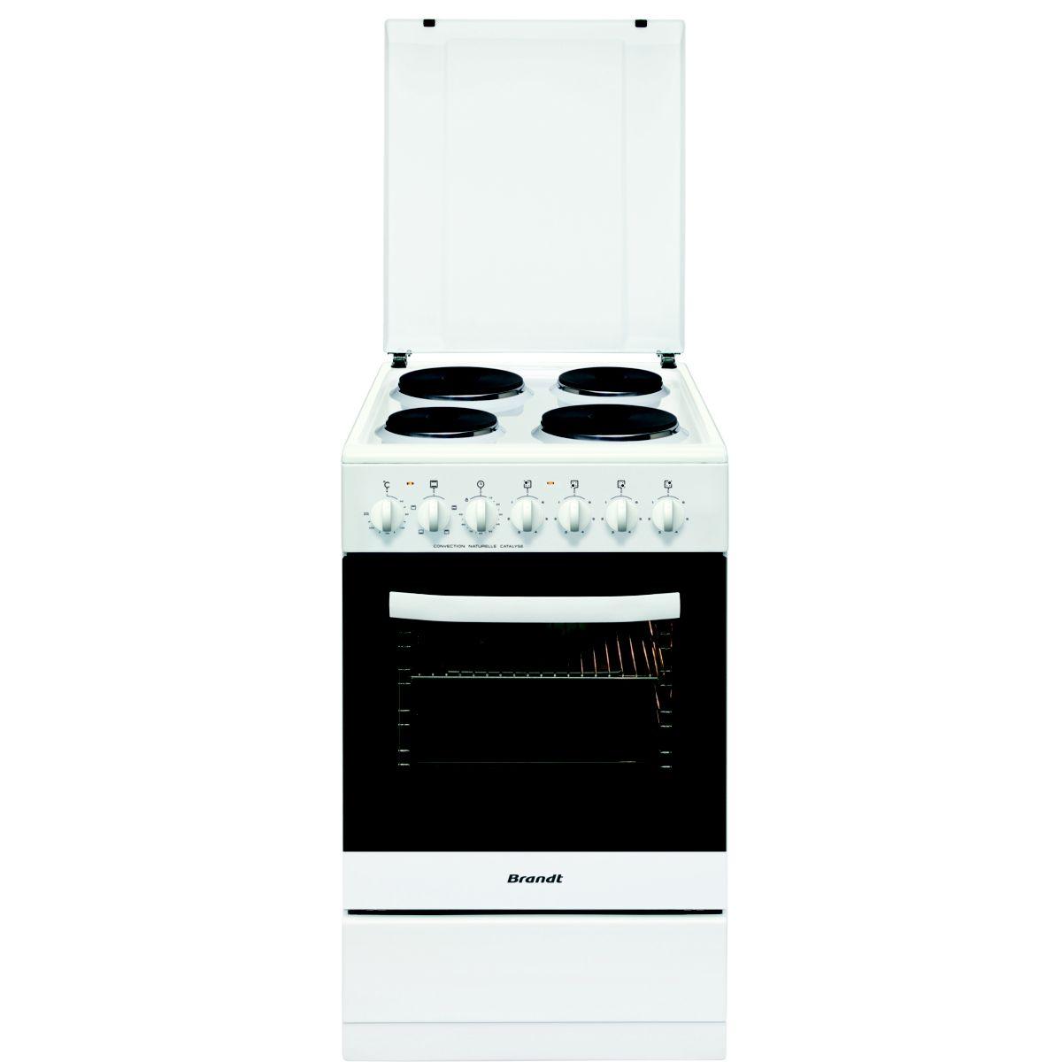 Cuisinière électrique BRANDT KE1500W