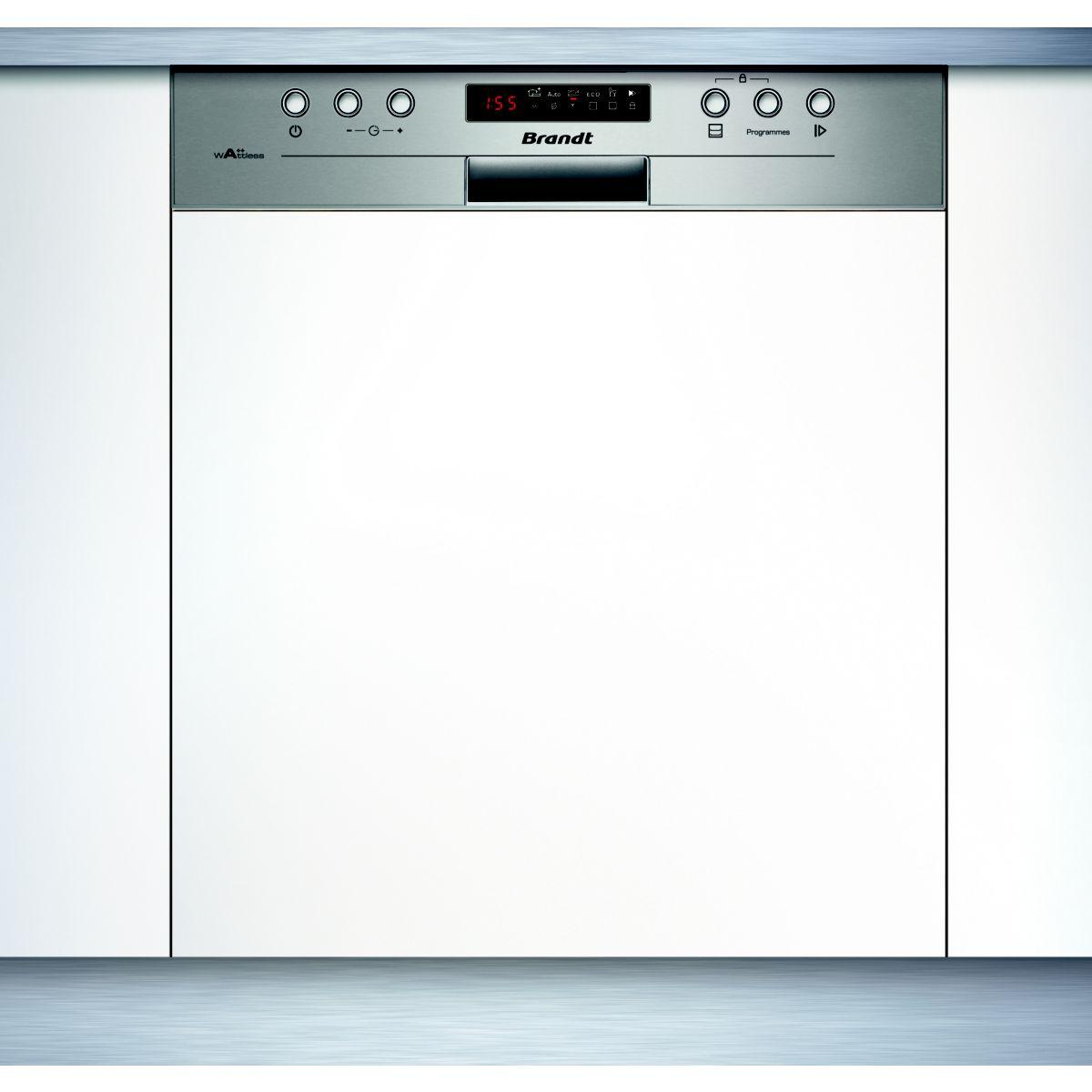 Lave vaisselle encastrable BRANDT VH15X