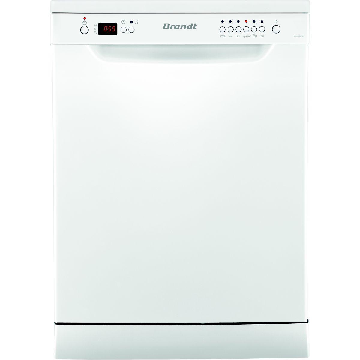 Lave vaisselle 60 cm BRANDT DFH 12227W
