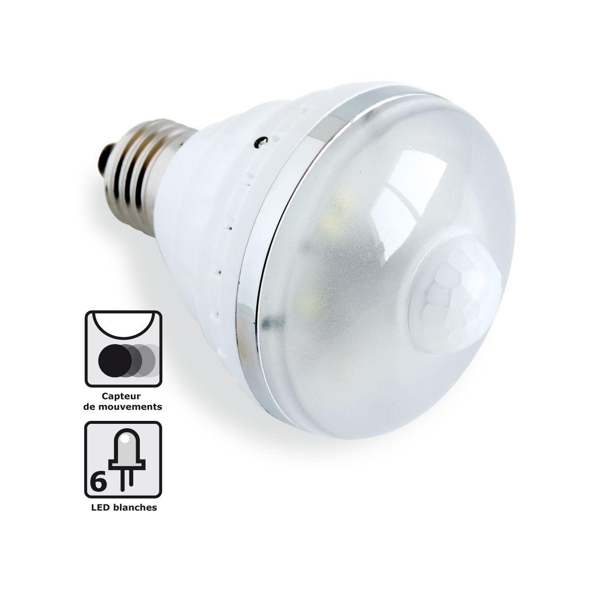 Ampoule HESTEC Ampoule LED Détect' Mouvements