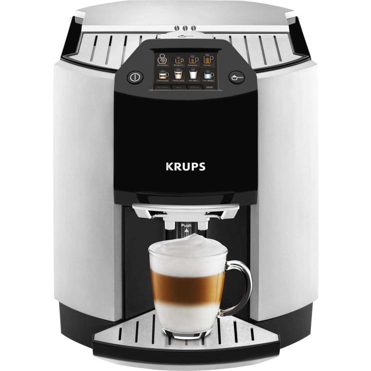 Expresso broyeur KRUPS Expresso Full Auto Barista YY8124FD