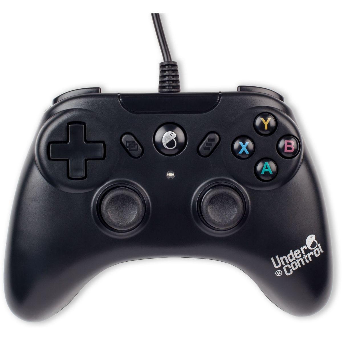 Manette filaire UNDER CONTROL Xbox One 3M Noire