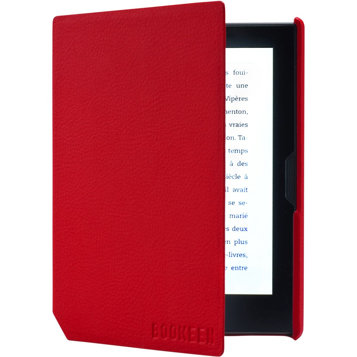 Housse BOOKEEN Cover Cybook Muse rouge vermillon