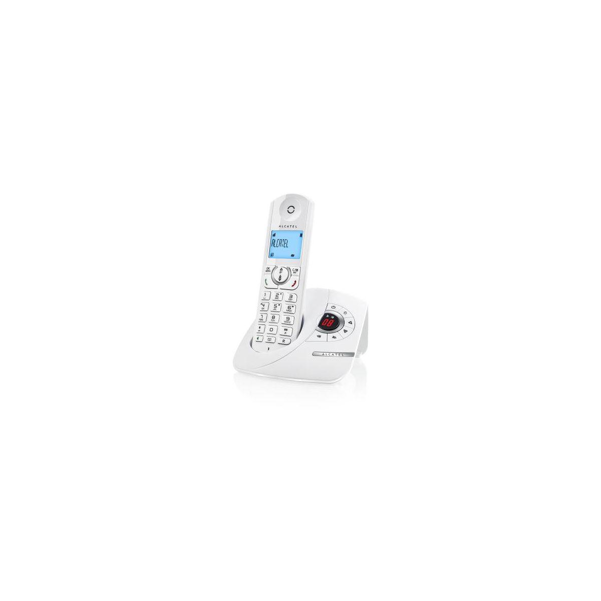 Téléphone sans fil ALCATEL F360 Voice Blanc