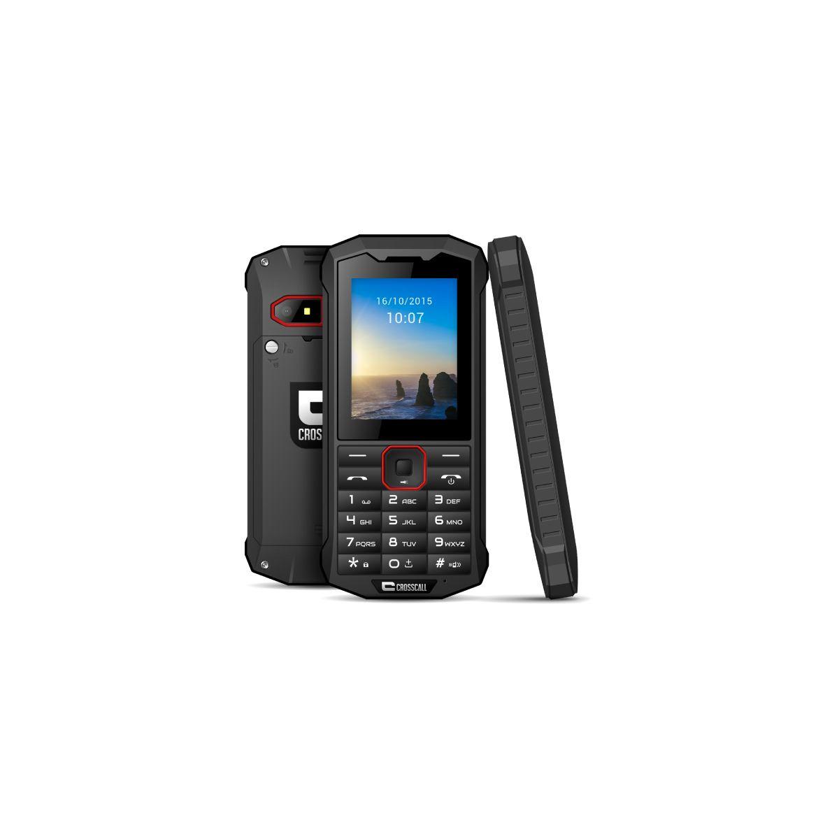 Téléphone mobile tout-terrain CROSSCALL Spider X4 Noir