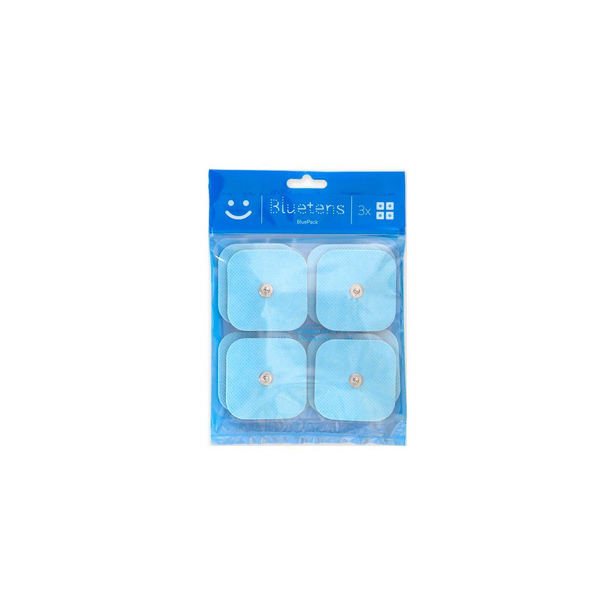 Electrode BLUETENS Pack 12 électrodes Bluepack 5x5cm