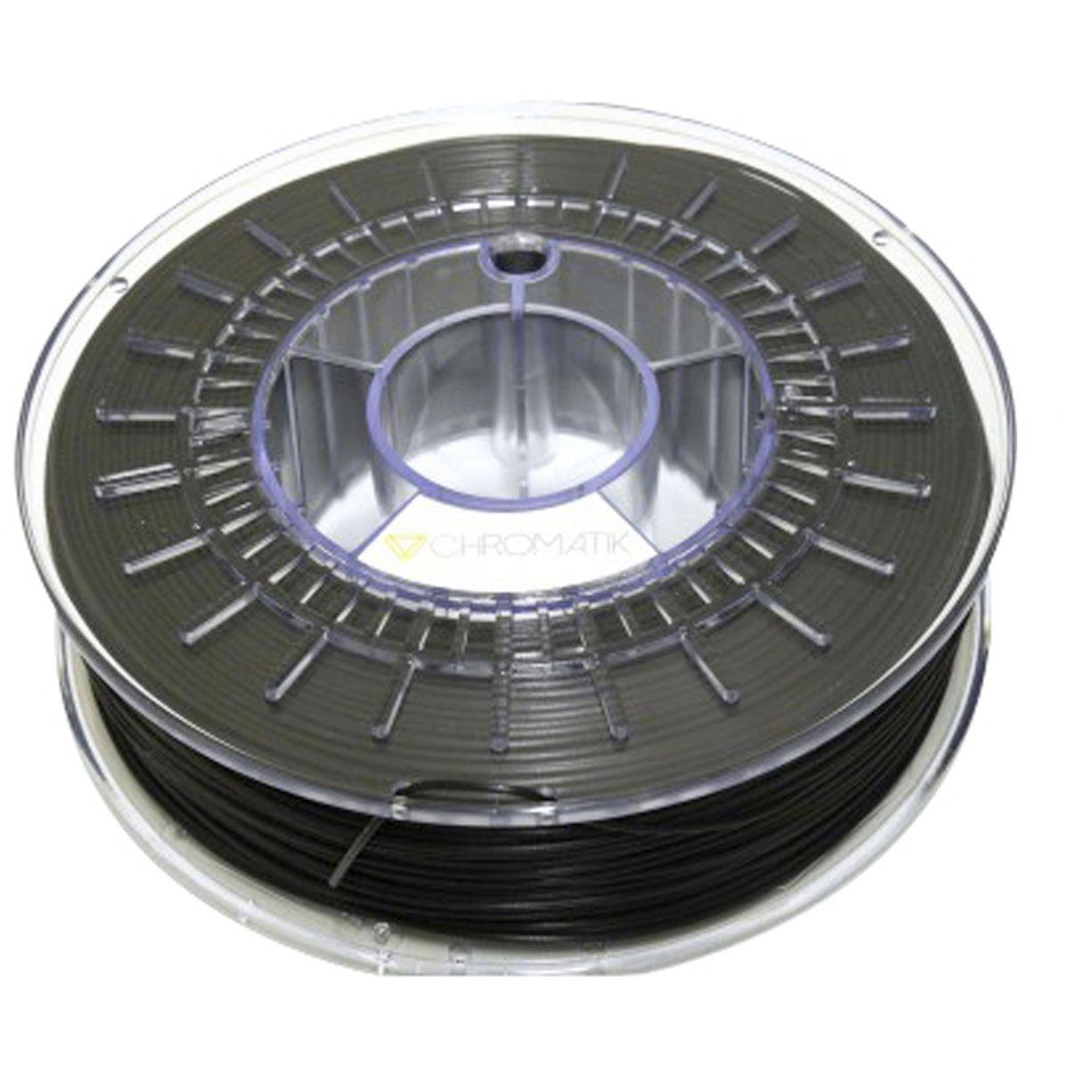 Filament 3D DAGOMA Filament PLA Chromatik 750g Noir mat