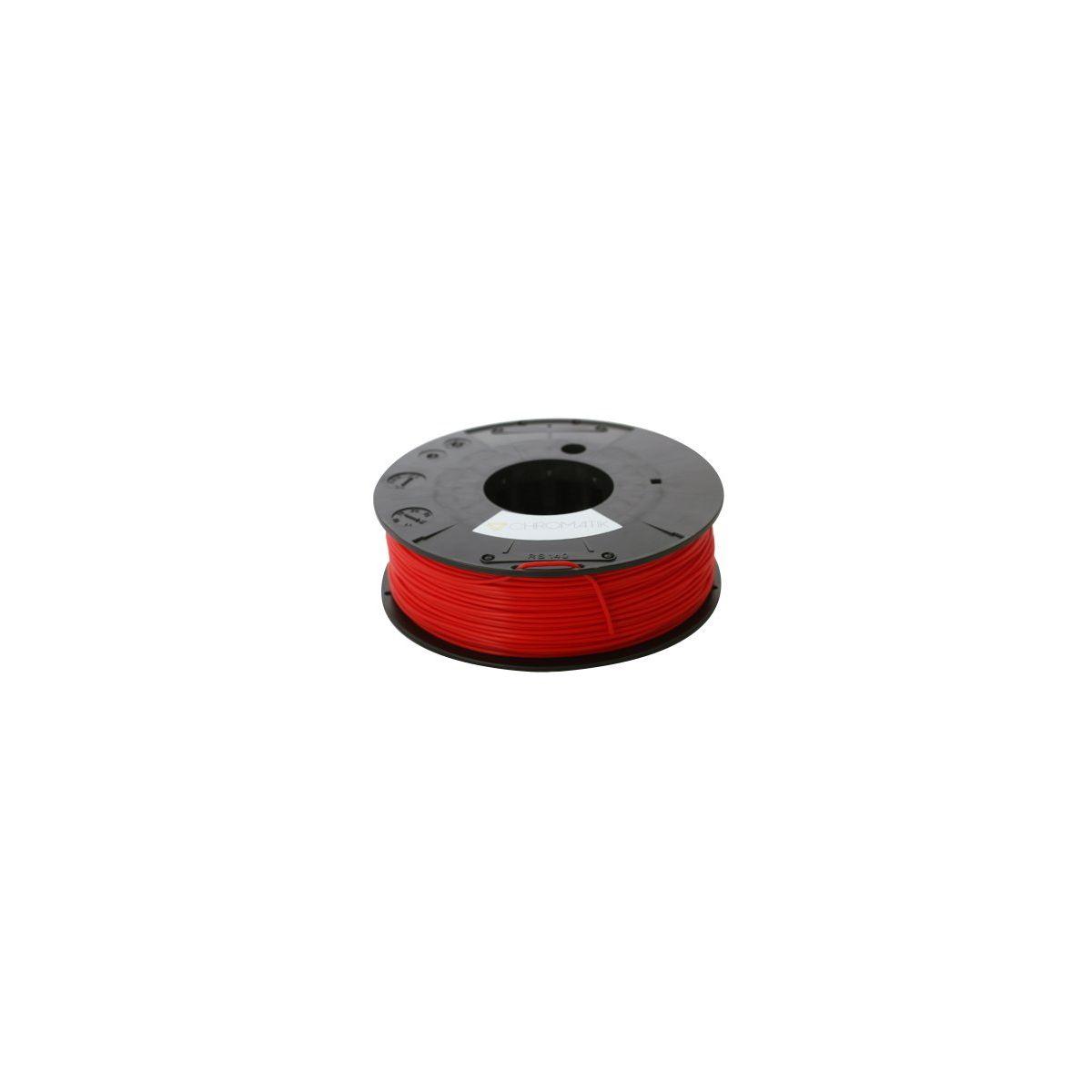 Filament 3D DAGOMA Filament PLA Chromatik 250g Rouge pompie