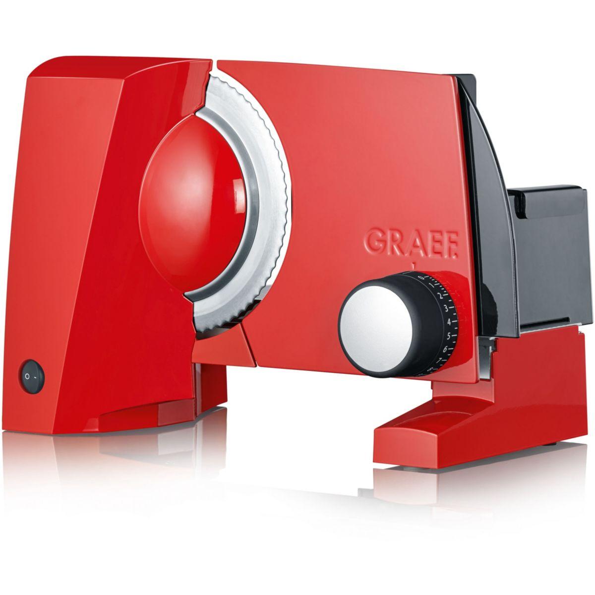 Trancheuse électrique GRAEF SKS100 Rouge