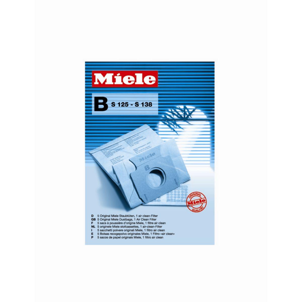 Sac aspirateur MIELE P125B (S125-138)