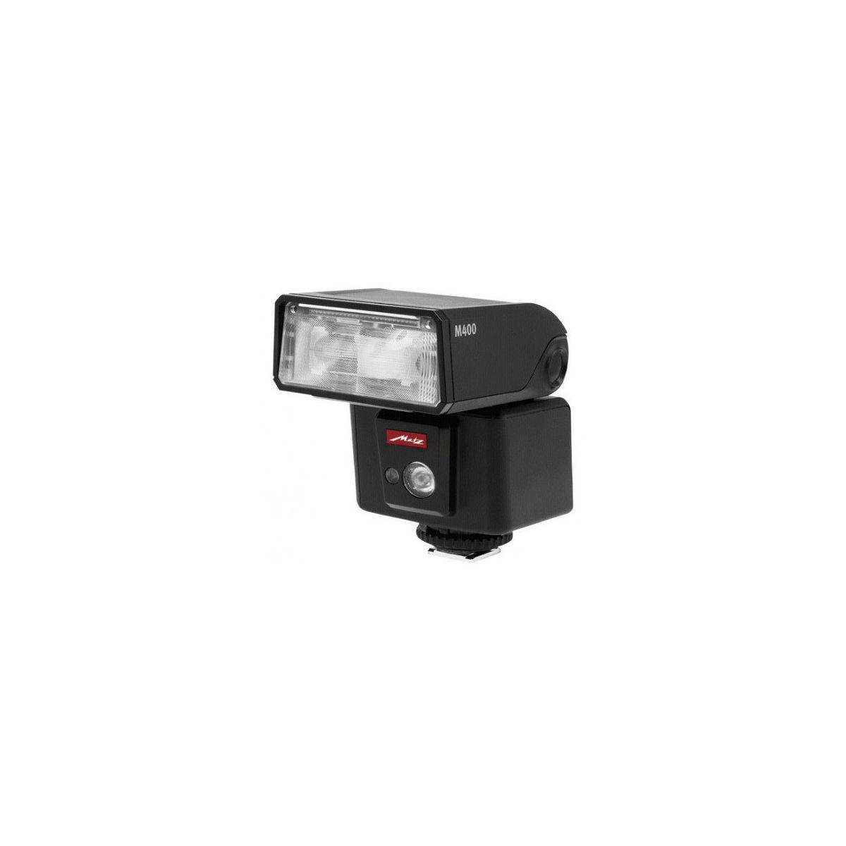 Flash METZ M400 pour hybride Panasonic et Olympus