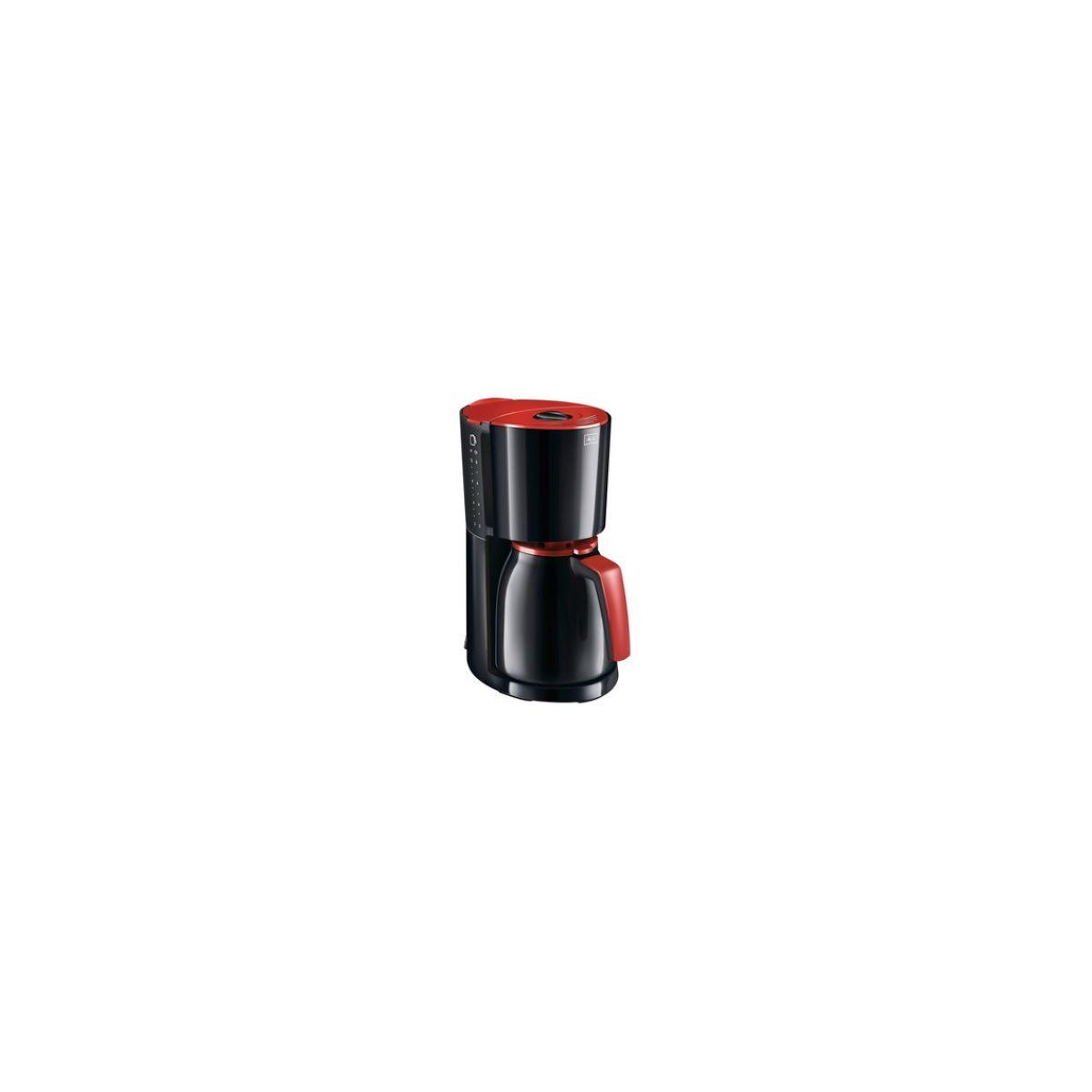 Caf-Thermos MELITTA Enjoy therm noir/rouge (photo)