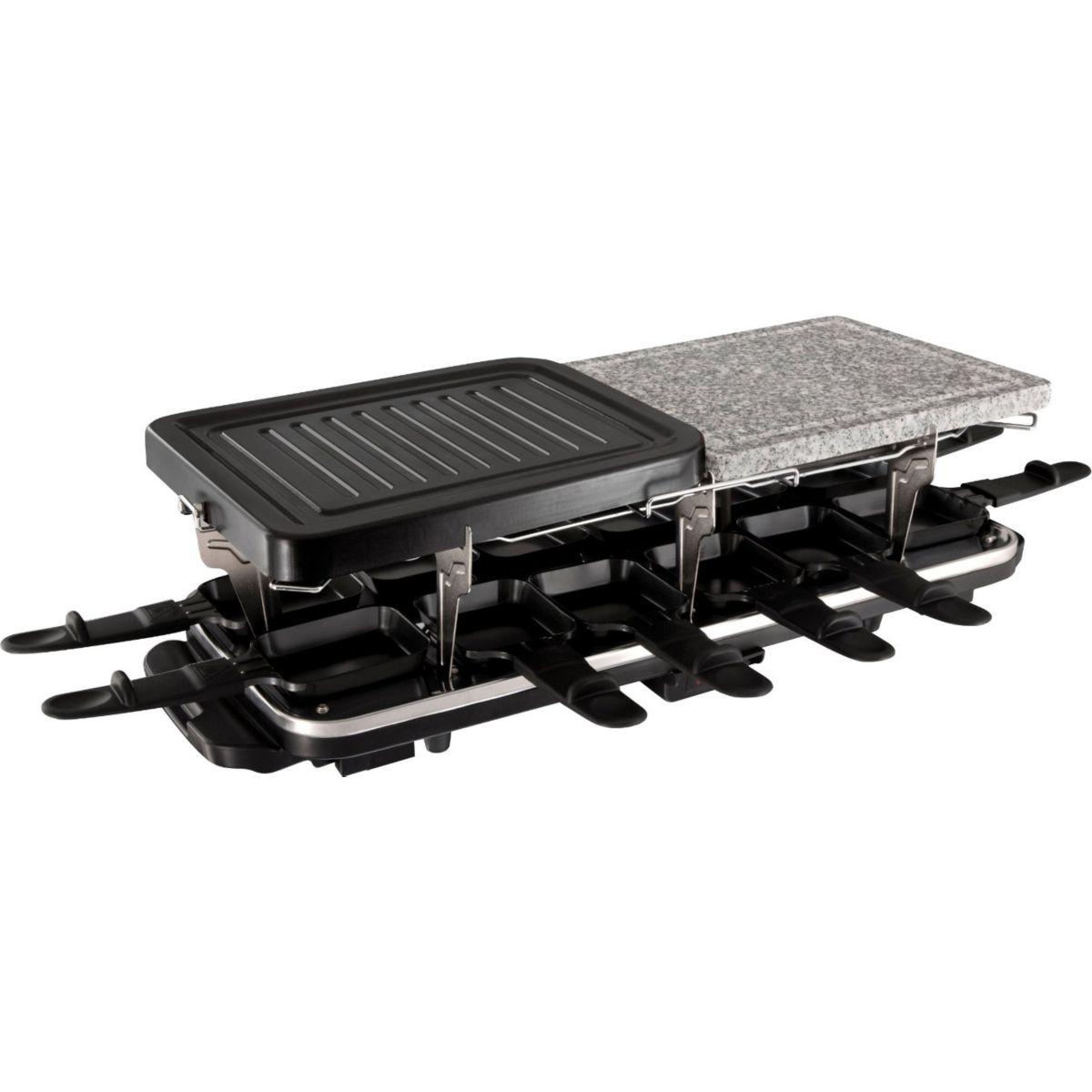 Raclette RUSSELL HOBBS Raclette 12 pers - Multifonction 3 en 1