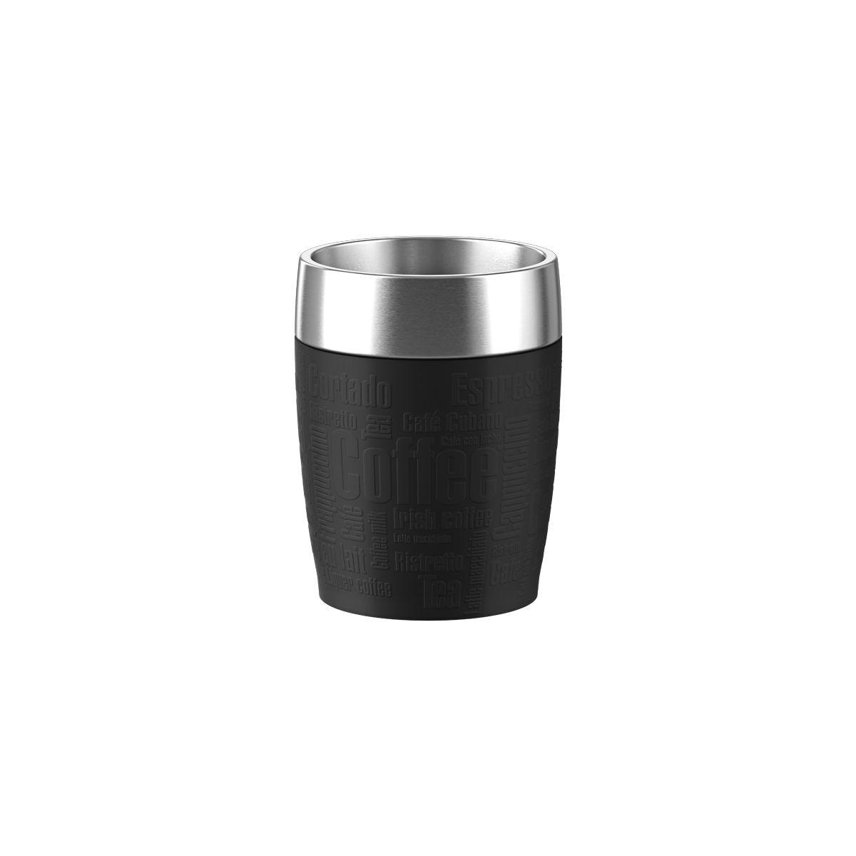 Mug isotherme EMSA Isotherme 0.2L inox/noir