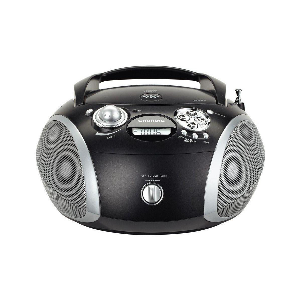 Radio CD GRUNDIG RCD1445 Noir