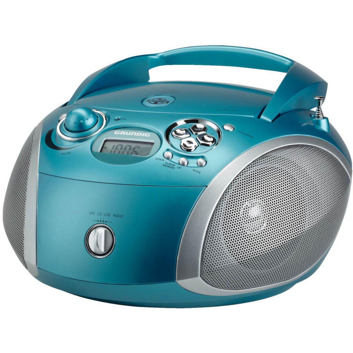 Radio CD GRUNDIG RCD1445AQ Turquoise