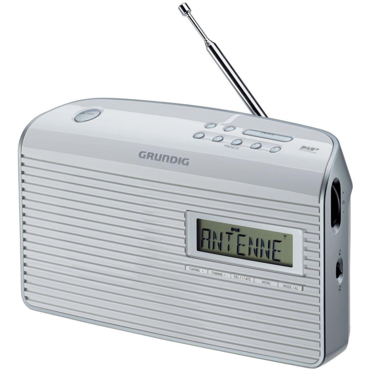 Radio numérique GRUNDIG Music 65 DAB+ Blanc