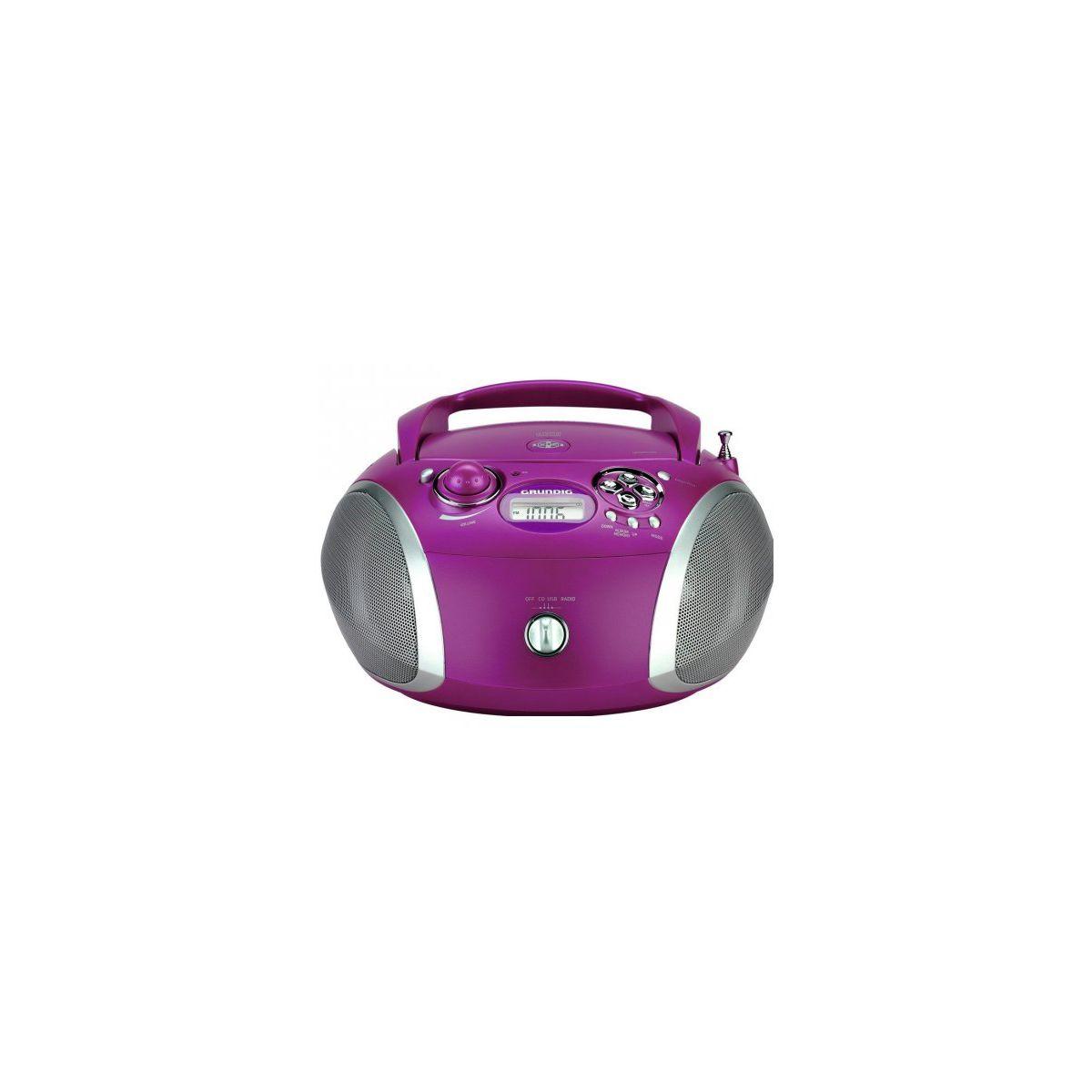 Radio CD GRUNDIG RCD1445PU Violet