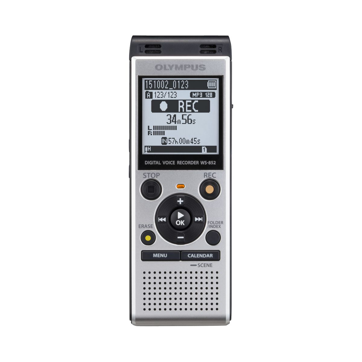 Dictaphone OLYMPUS WS-852 + Microphone ME-51 (photo)