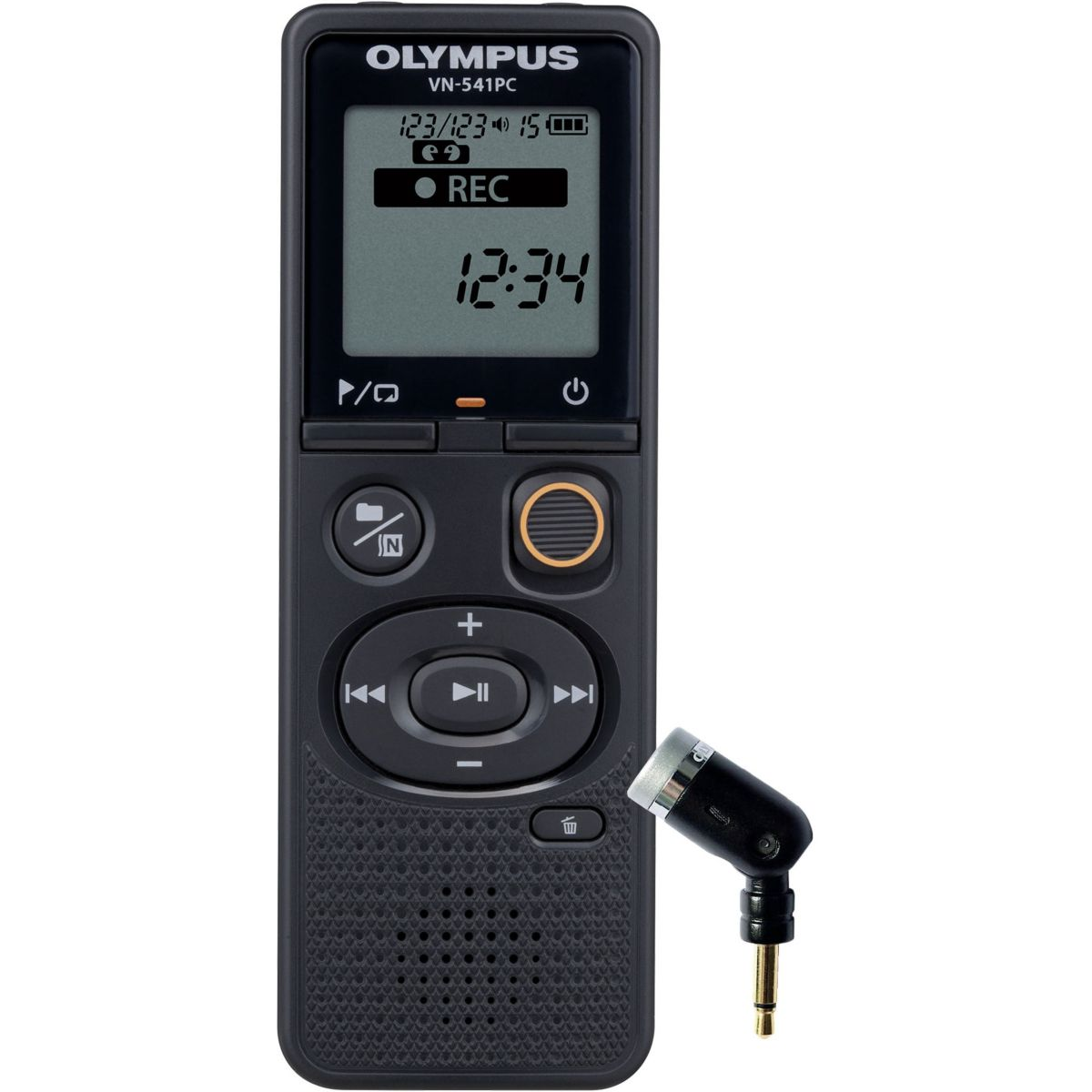 Dictaphone OLYMPUS VN-541PC + Microphone ME-52 (photo)