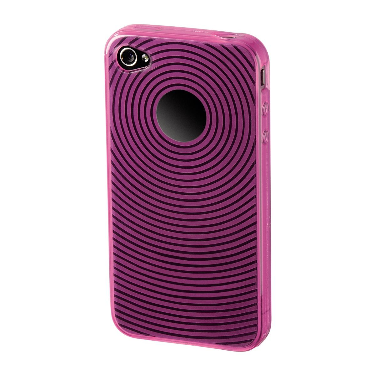 Coque HAMA 107108 COQUE SPIRALE ROSE IPHONE 4/4S