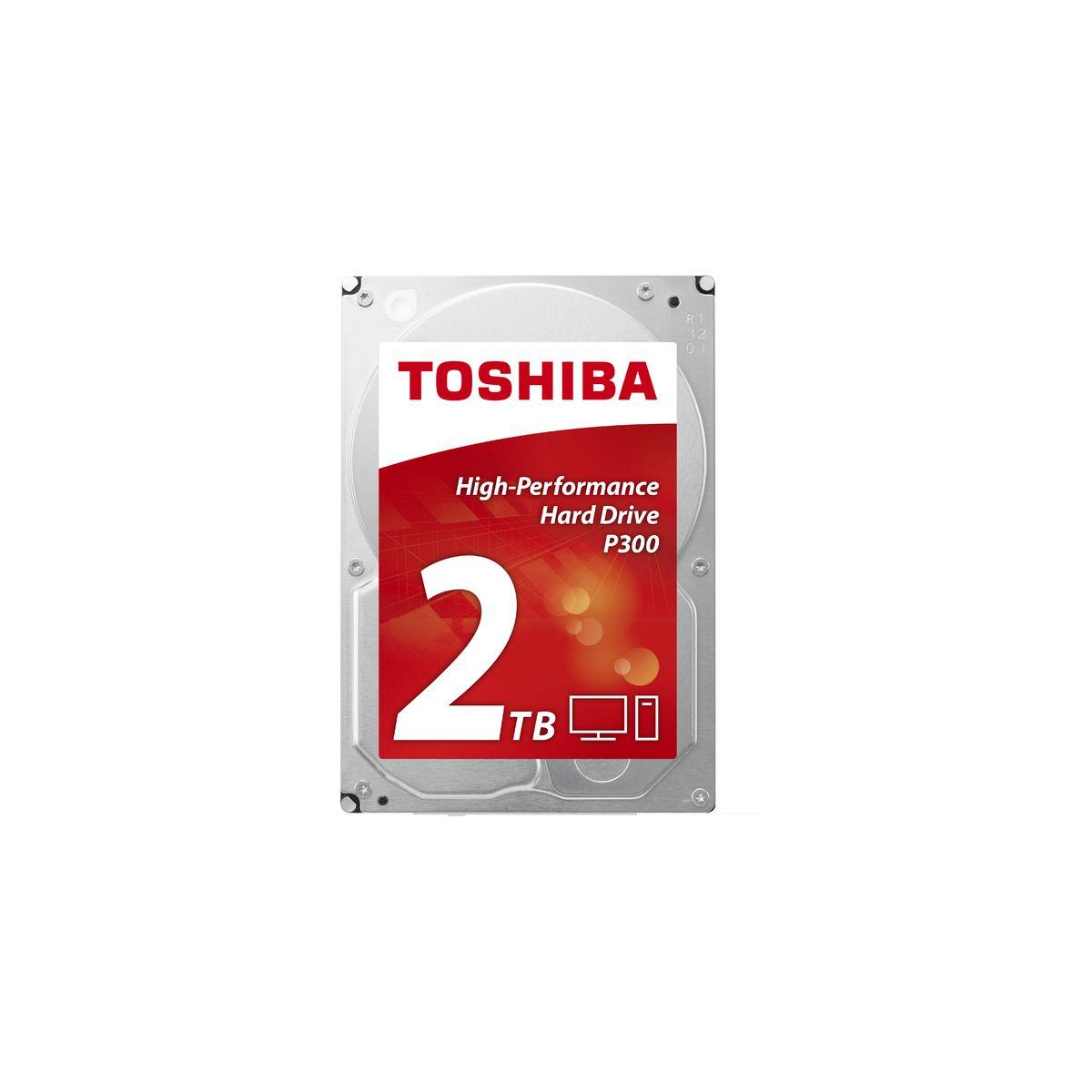 Disque dur interne TOSHIBA 3,5 2To P300