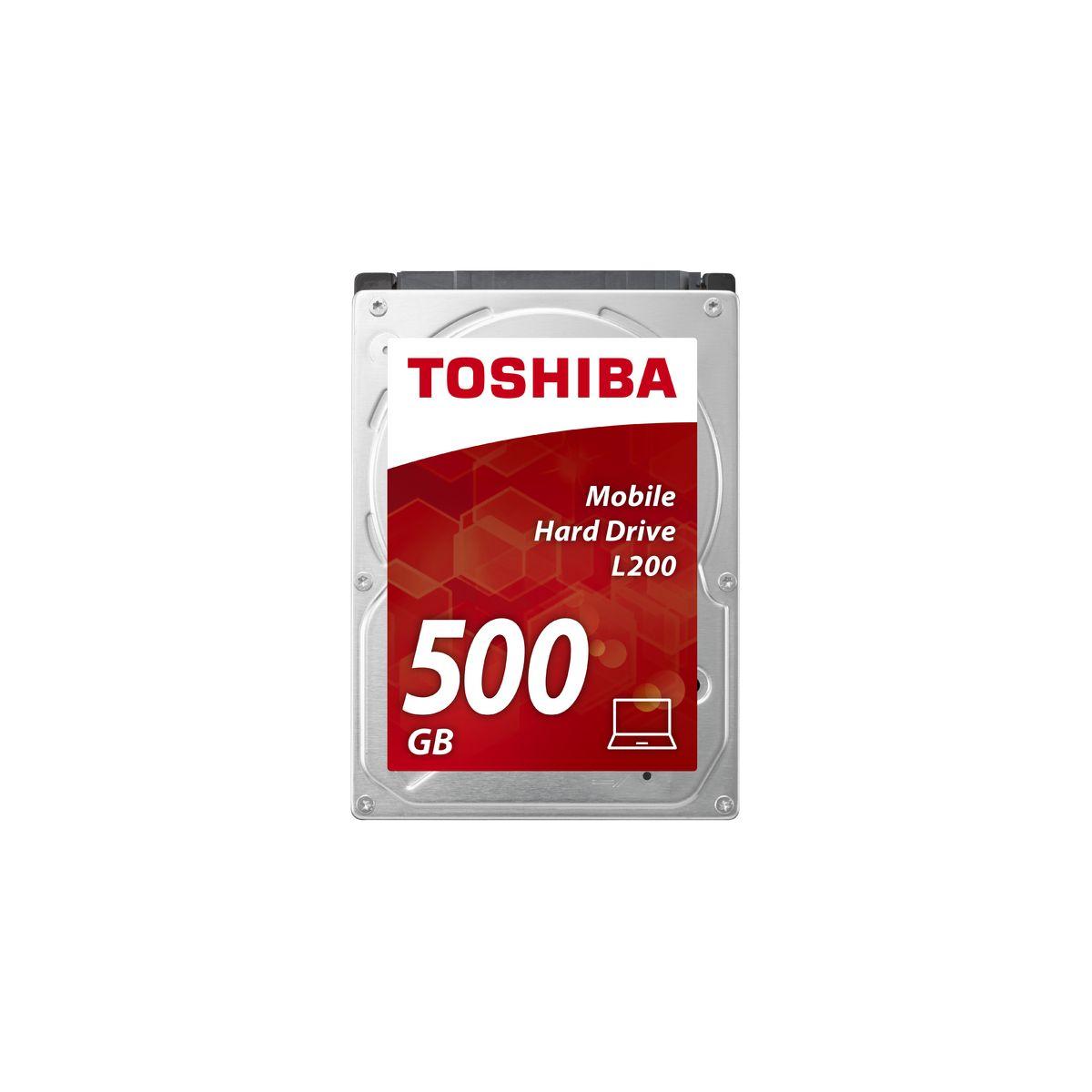 Disque dur interne TOSHIBA 2,5 500Go Sata L200