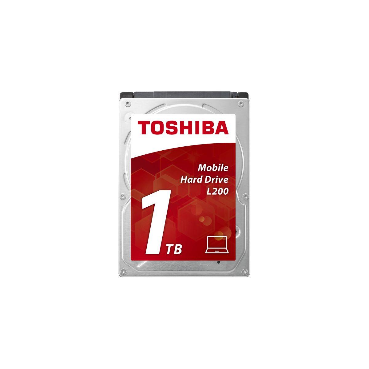 Disque dur interne TOSHIBA 2,5 1To Sata L200