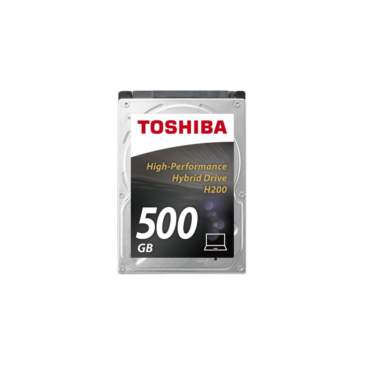 Disque dur interne TOSHIBA 2,5 Hybrid SSHD 500Go H200