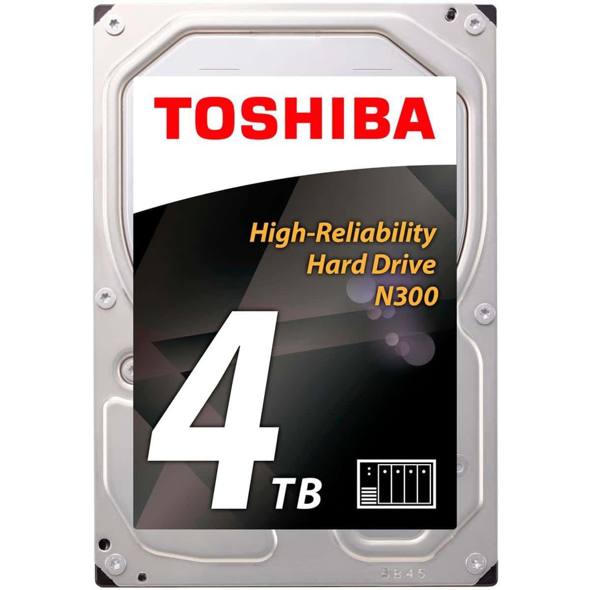 Disque dur interne TOSHIBA 3,5'' 4To N300