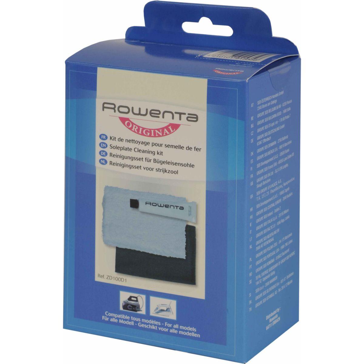 ACC. ROWENTA Kit de nettoyage pour semel