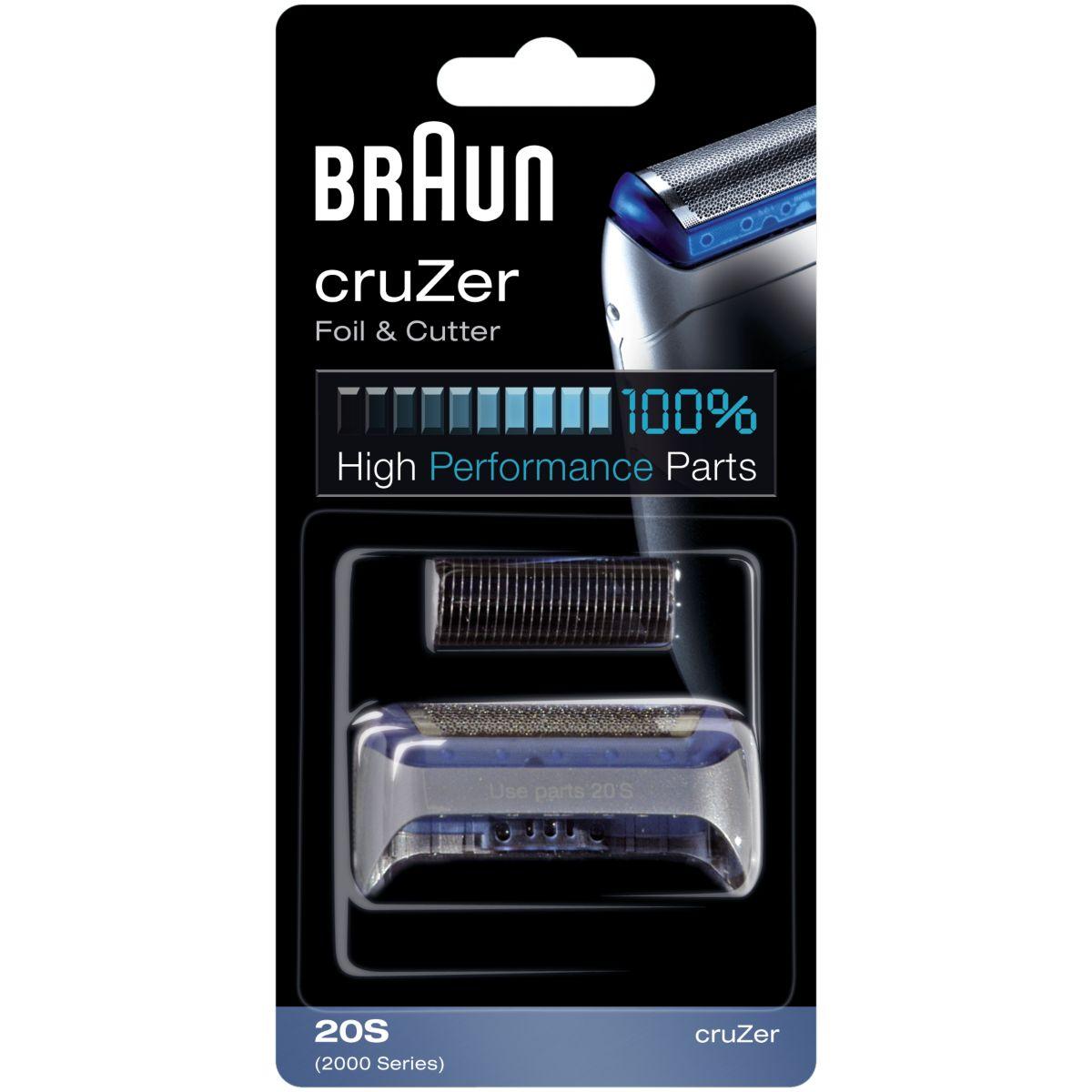 Pack BRAUN cruzer 20S