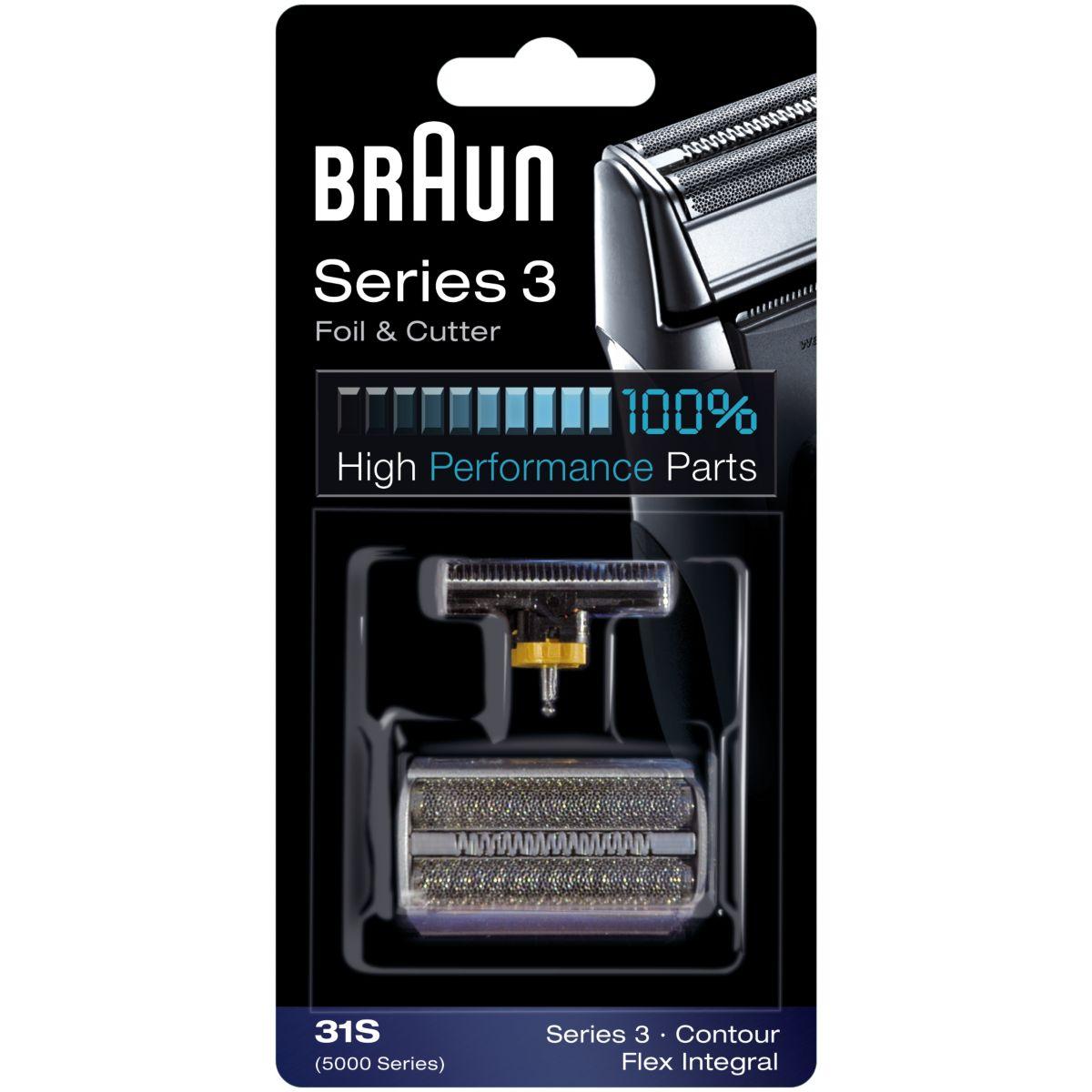 Pack BRAUN 31S serie 3