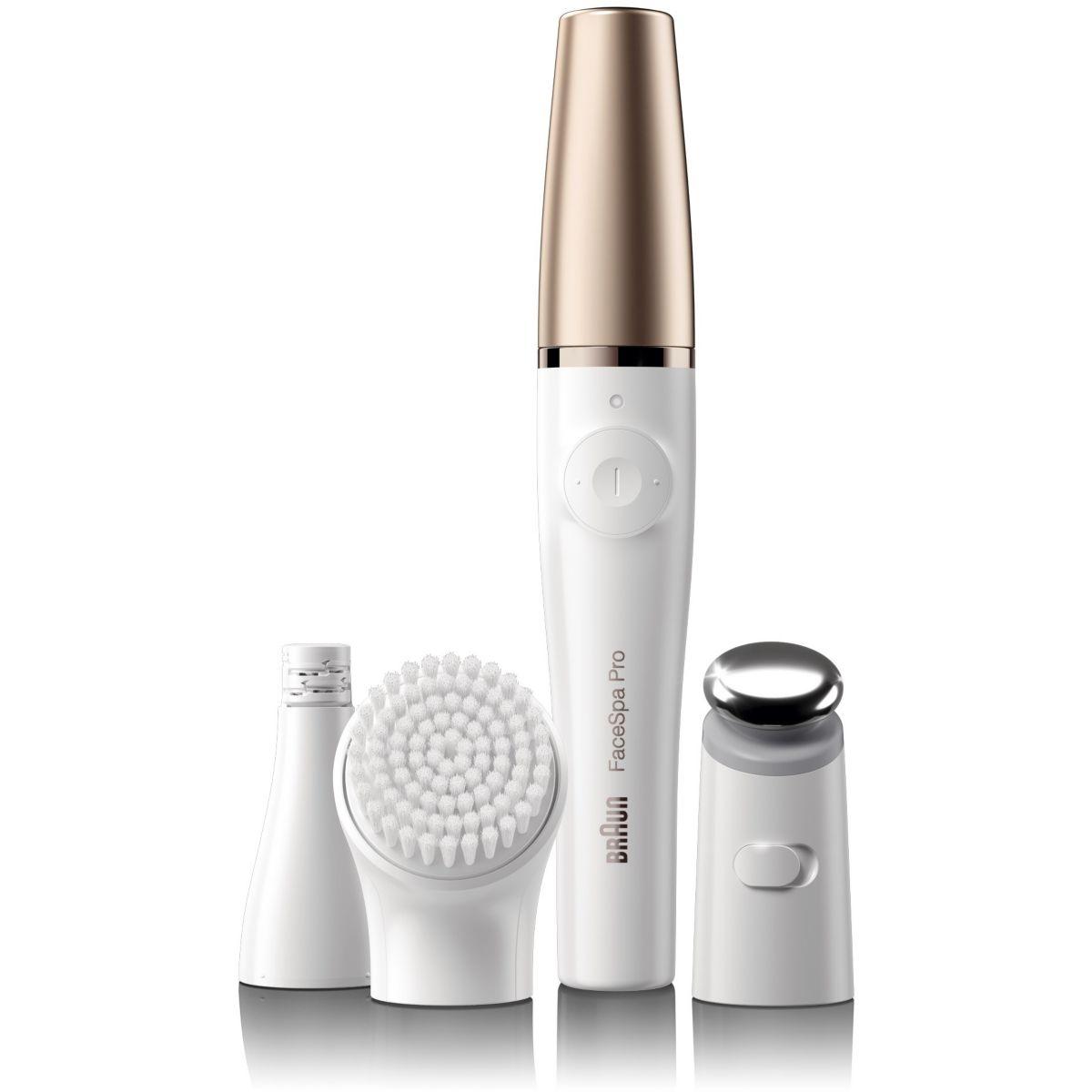 Brosse nettoyante visage BRAUN FaceSpa Pro 911 + brosse visage
