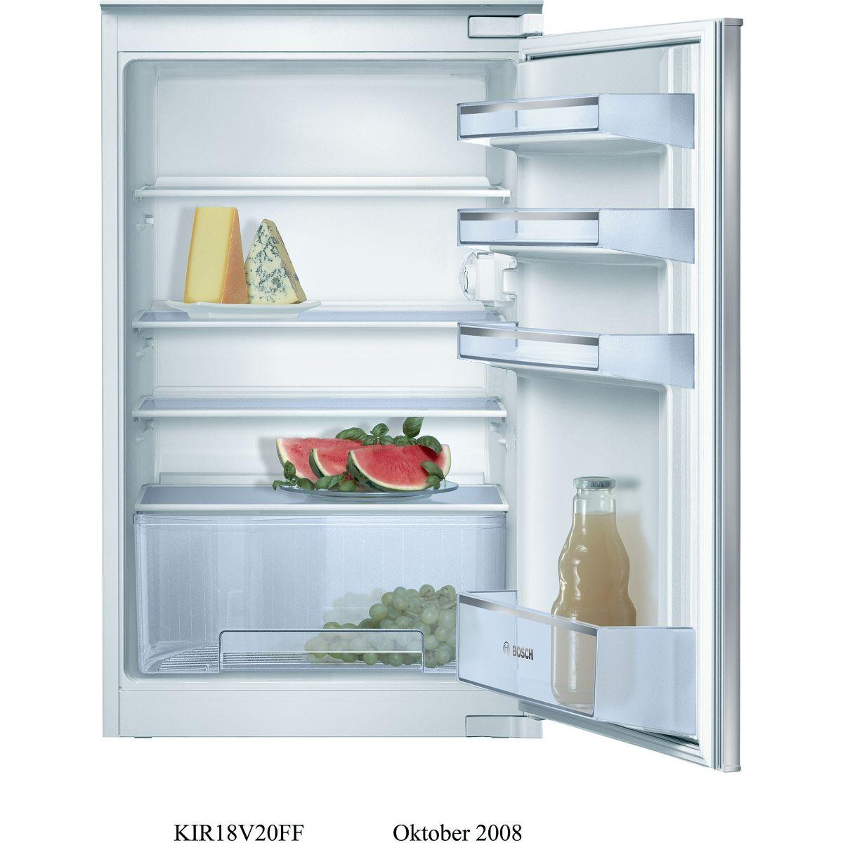 Réfrigérateur 1 porte encastrable BOSCH KIR18V20FF