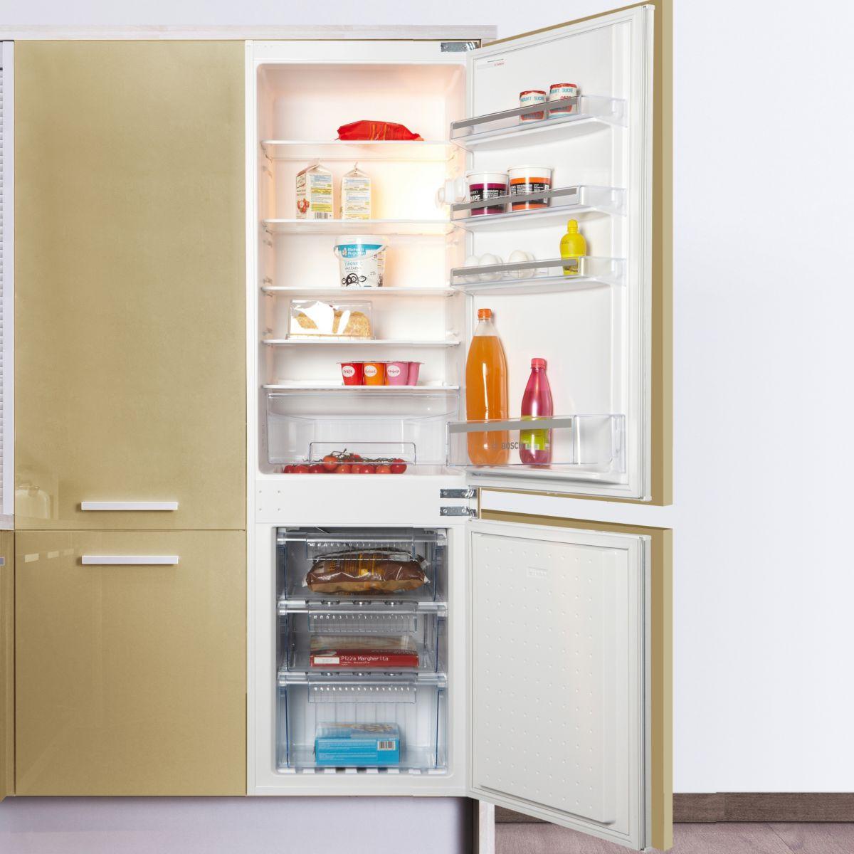 Réfrigérateur combiné encastrable BOSCH KIV34V21FF