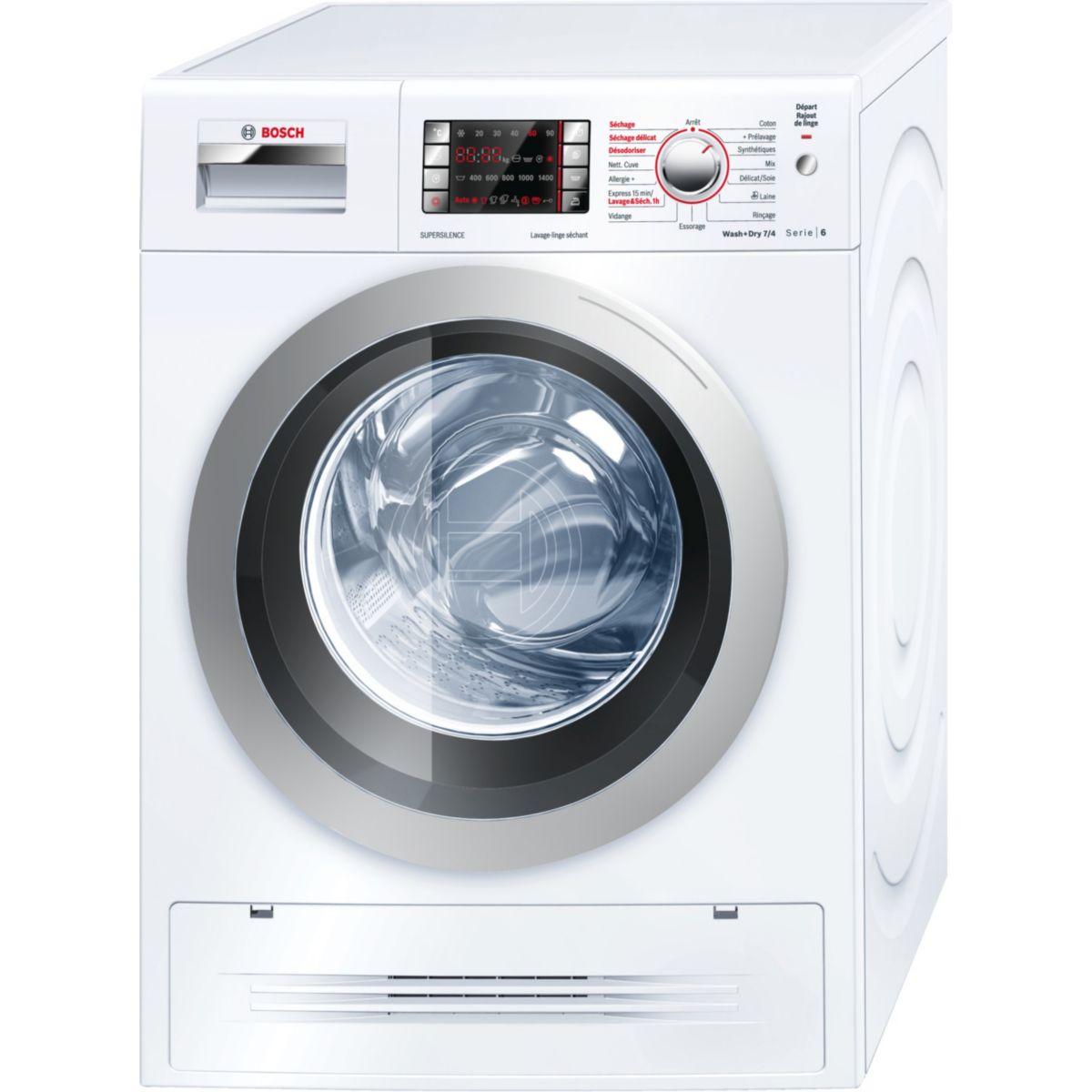 Lave-linge séchant BOSCH WVH28461FF