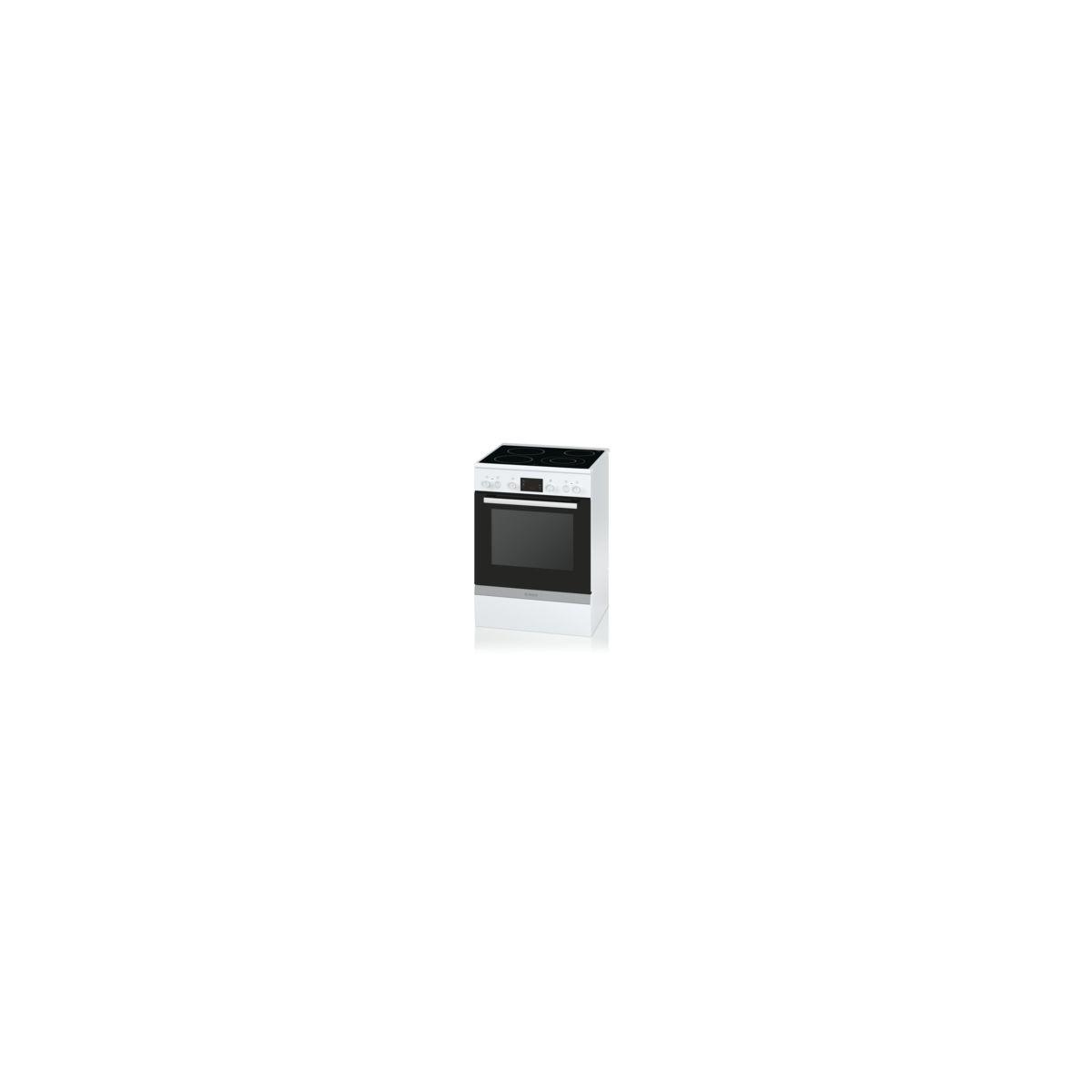 Cuisinière vitrocéramique BOSCH HCA743220F