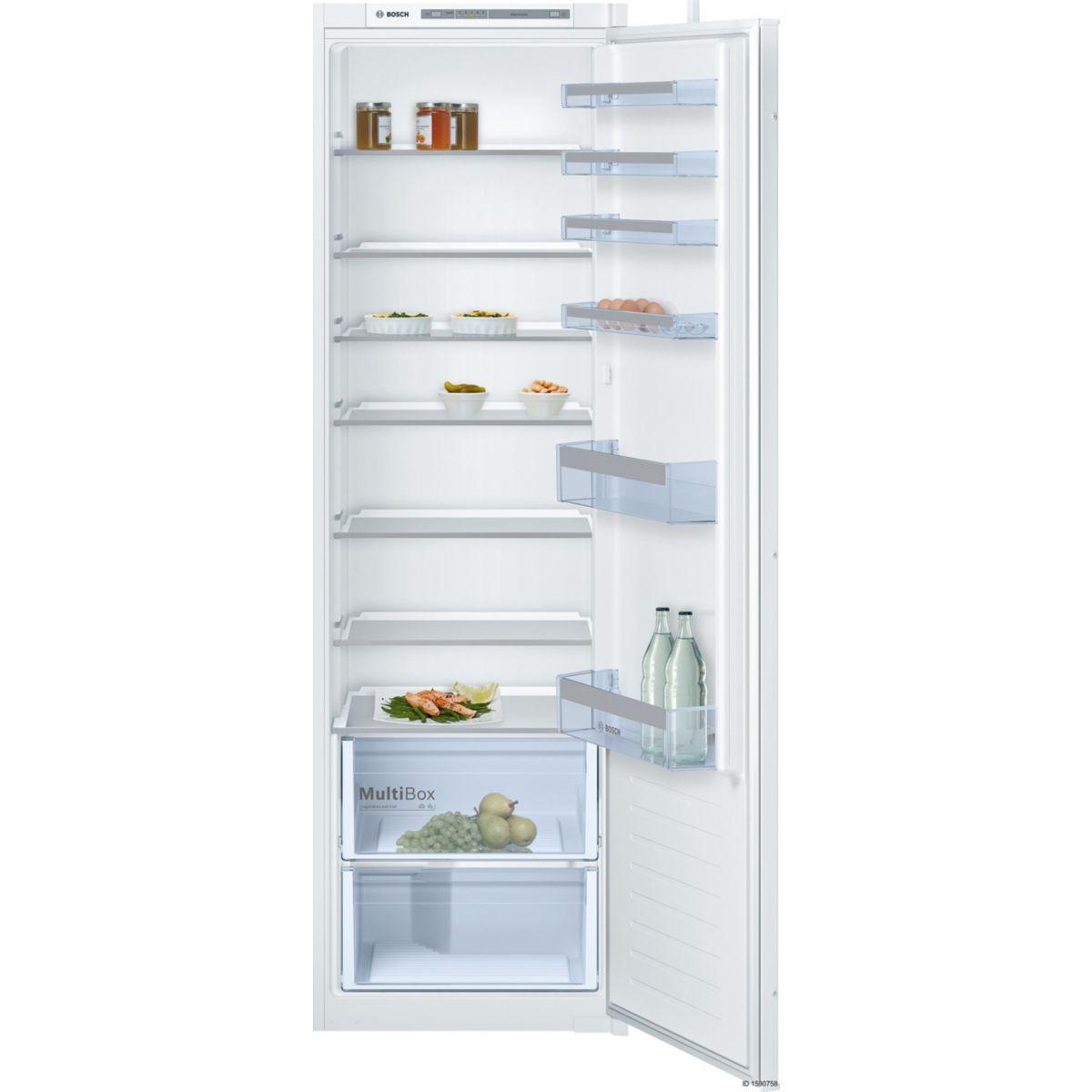 Réfrigérateur 1 porte encastrable BOSCH KIR81VS30