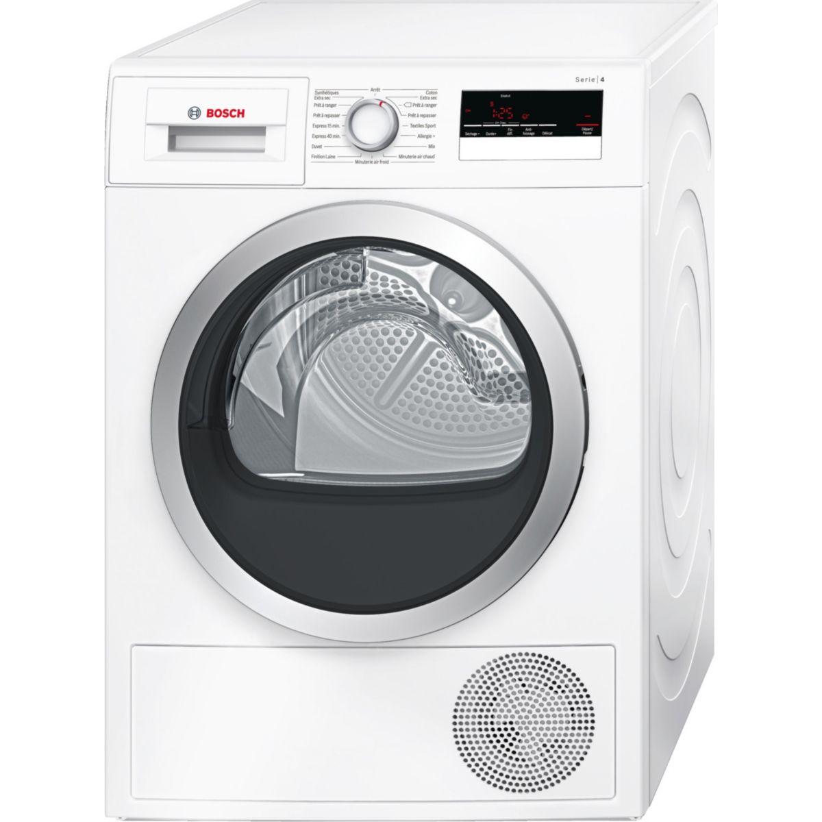 Sèche linge à condensation BOSCH WTN 85200FF