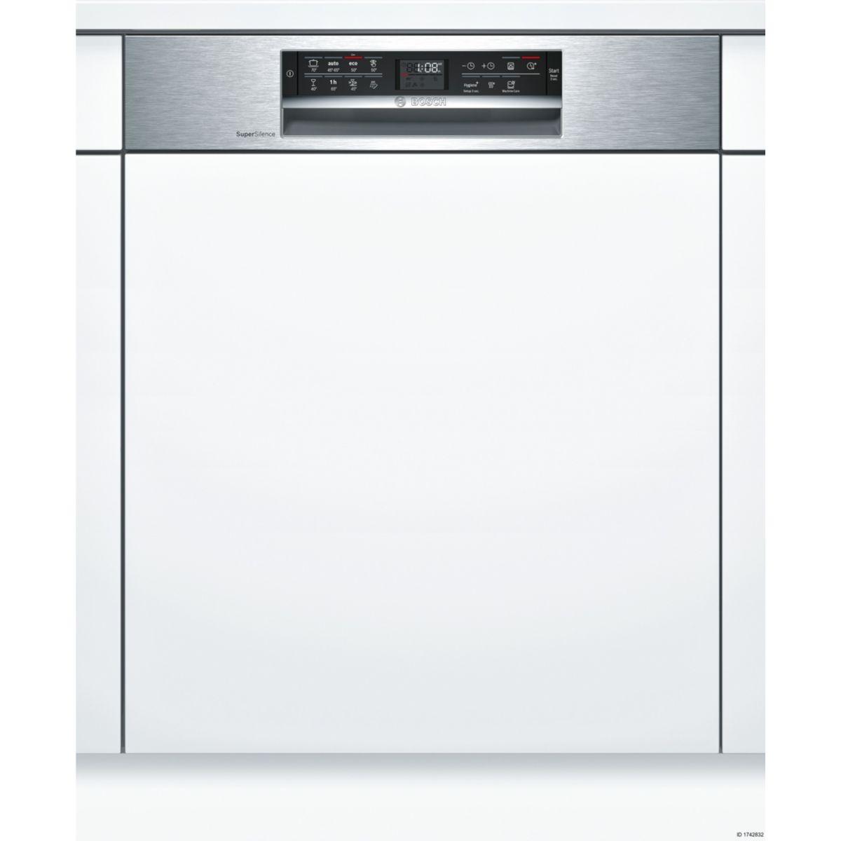 Lave vaisselle encastrable BOSCH SMI68MS02E