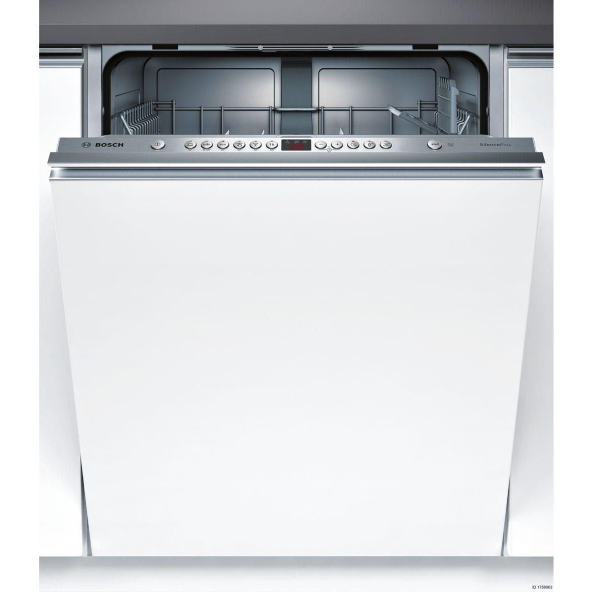 Lave vaisselle tout intégrable BOSCH SMV46AX01E