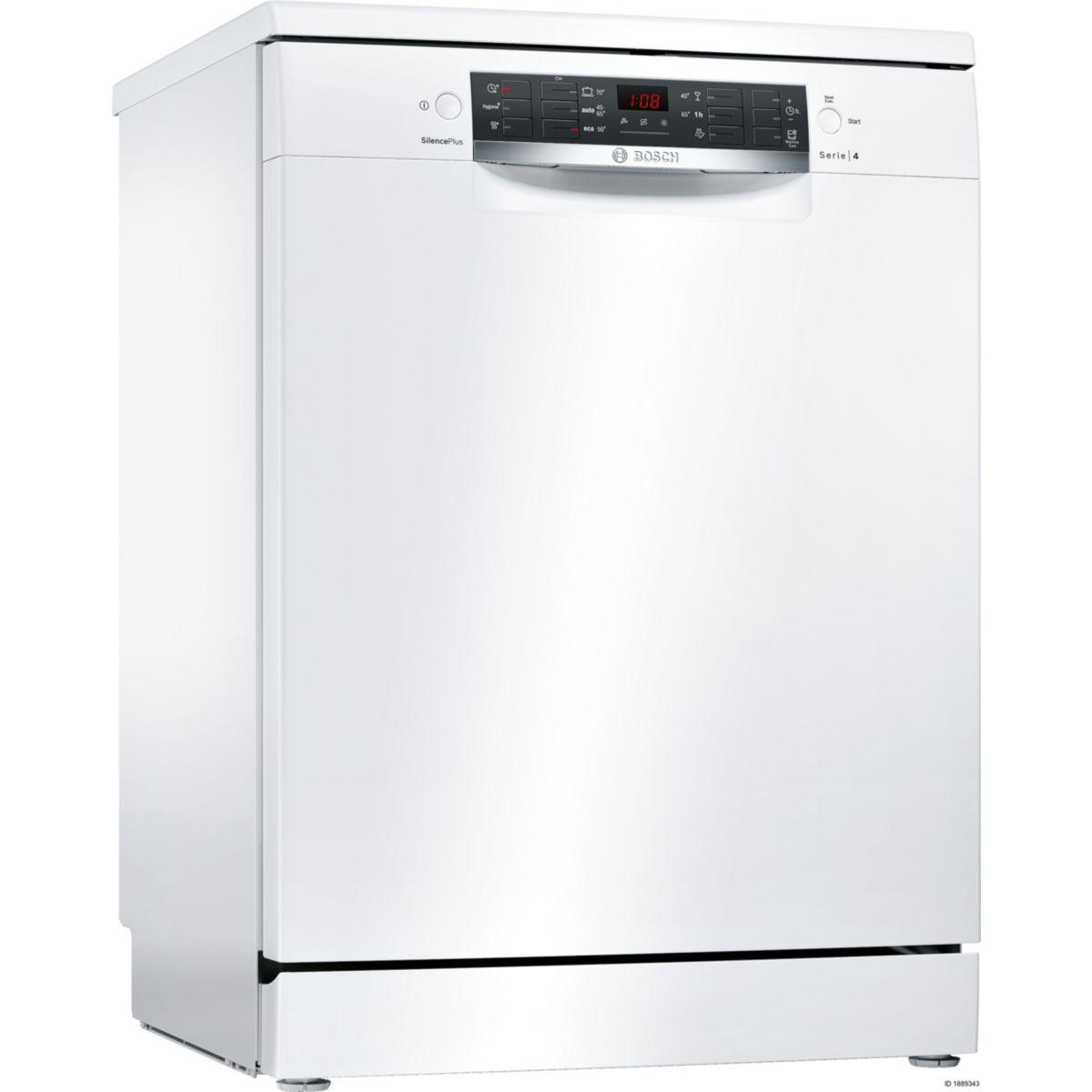 Lave-vaisselle 60cm BOSCH SMS46GW01E (photo)