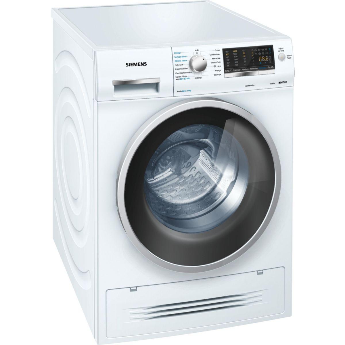 Lave-linge séchant SIEMENS WD14H462FF