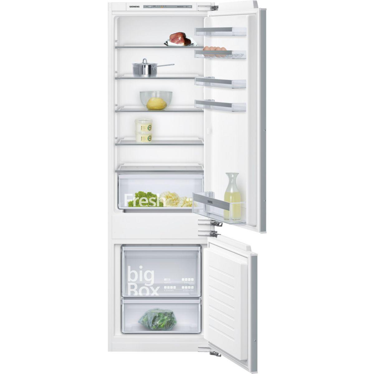 Réfrigérateur combiné encastrable SIEMENS KI87VVF30
