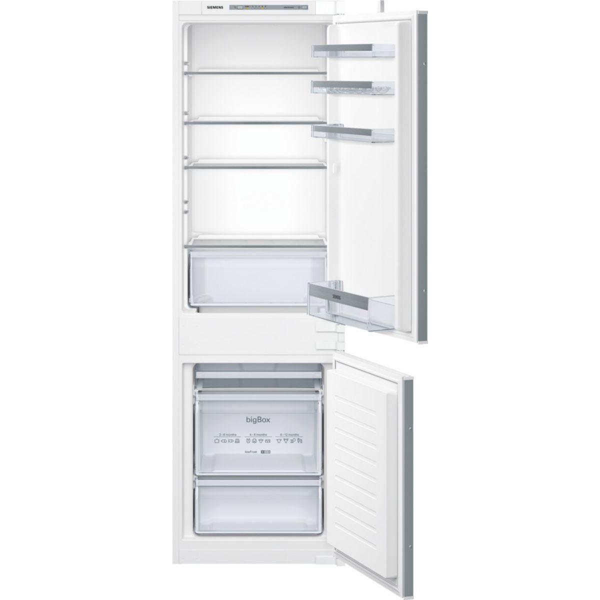 Réfrigérateur combiné encastrable SIEMENS KI86VVS30
