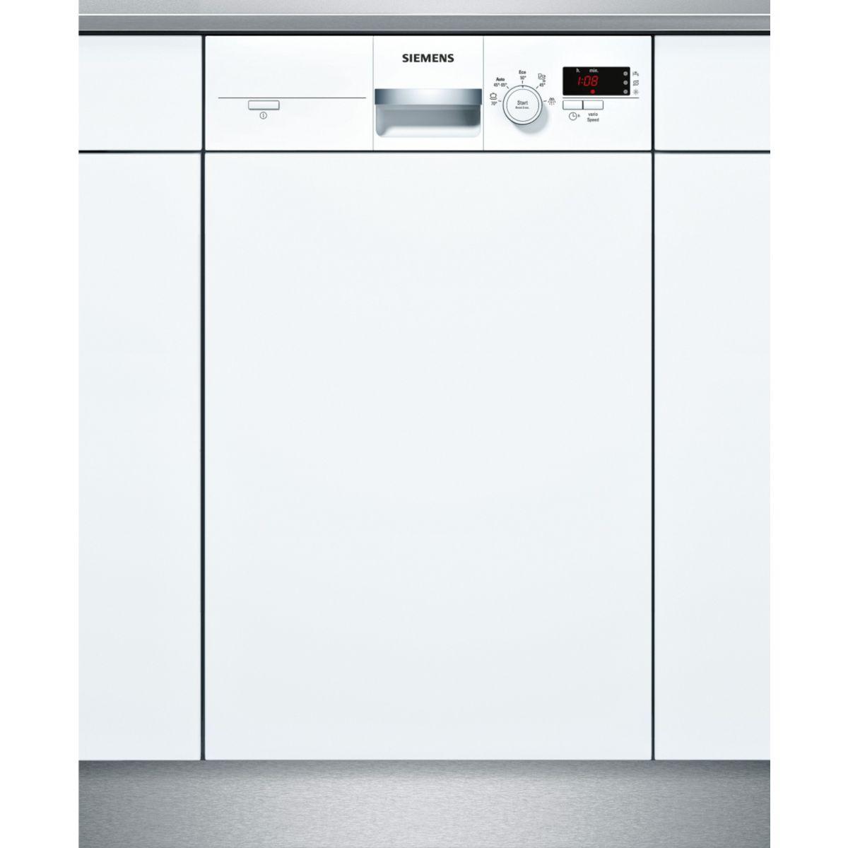 Lave-vaisselle intégrable SIEMENS SR55E204EU