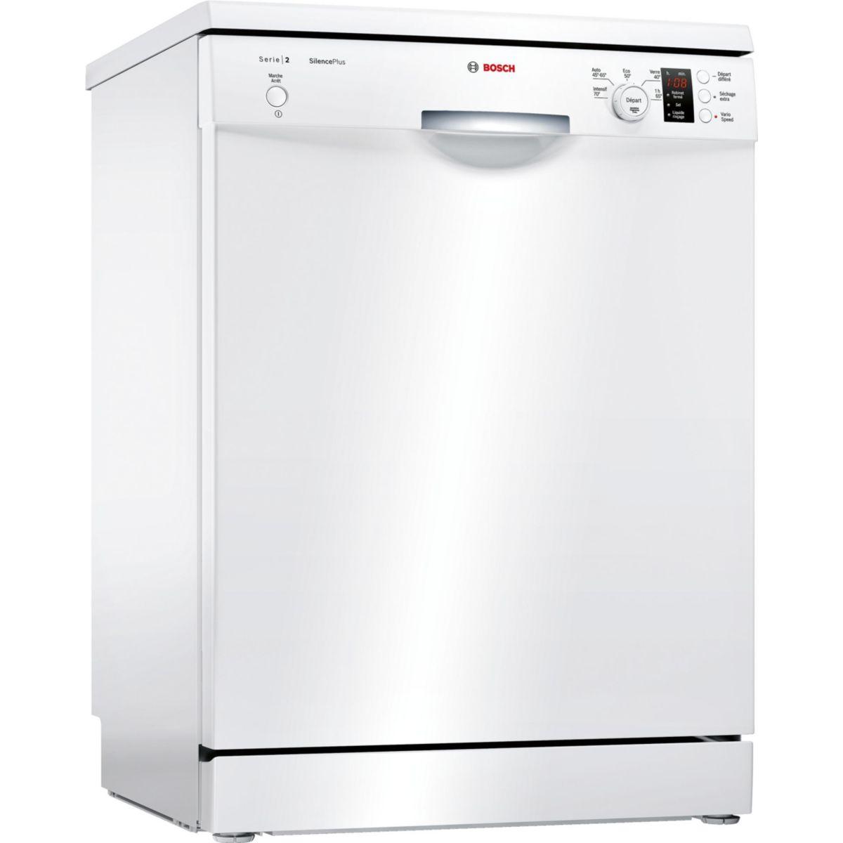 Lave vaisselle 60 cm BOSCH SMS25AW00F