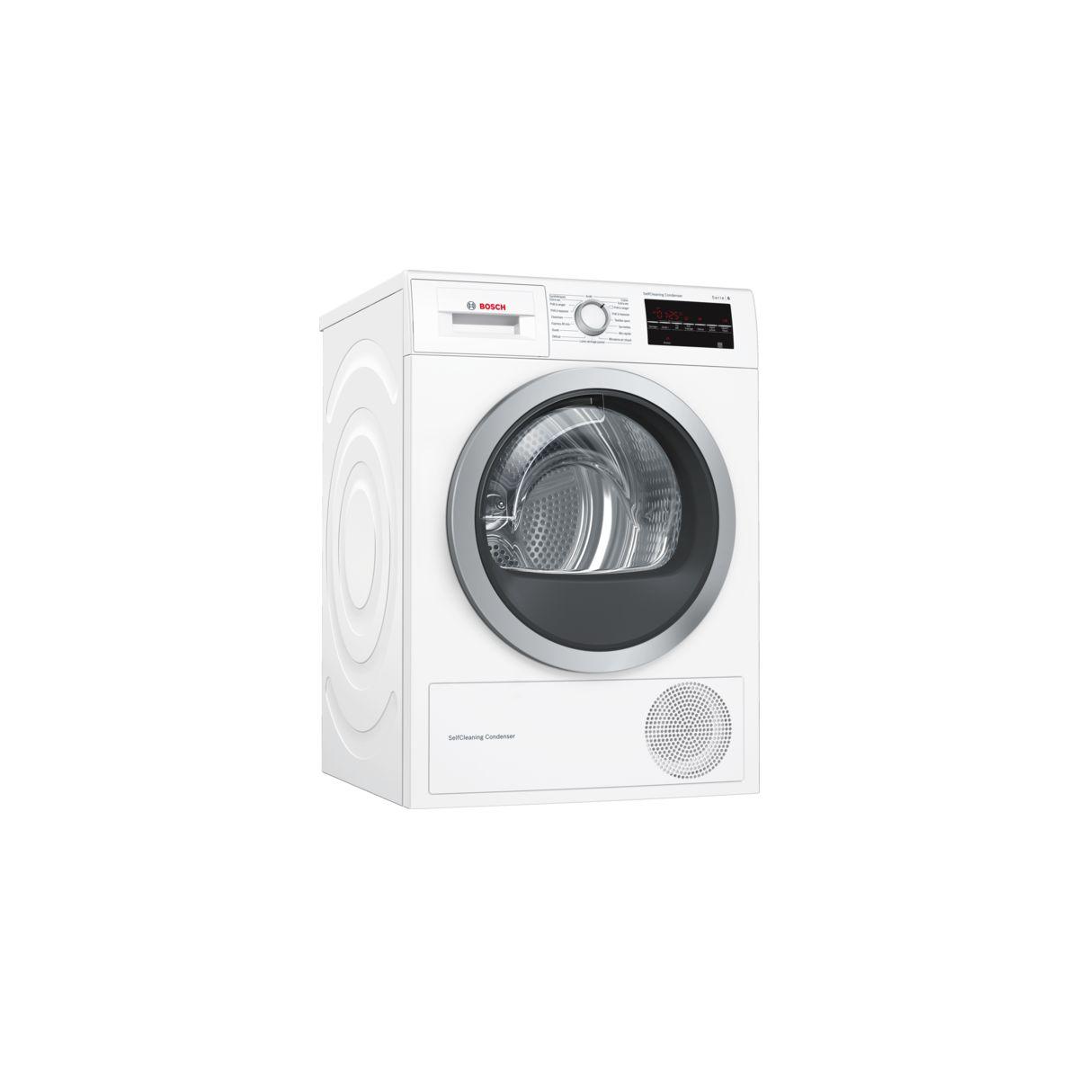 Sèche linge pompe à chaleur BOSCH WTW 87499FF